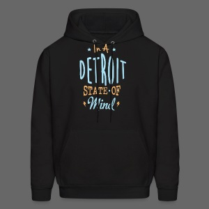 A Detroit State Of Mind - Men's Hoodie