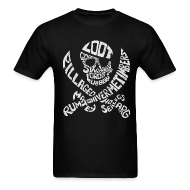 T-Shirts ~ Men's T-Shirt ~ Talk Like A Pirate Day Official Tee