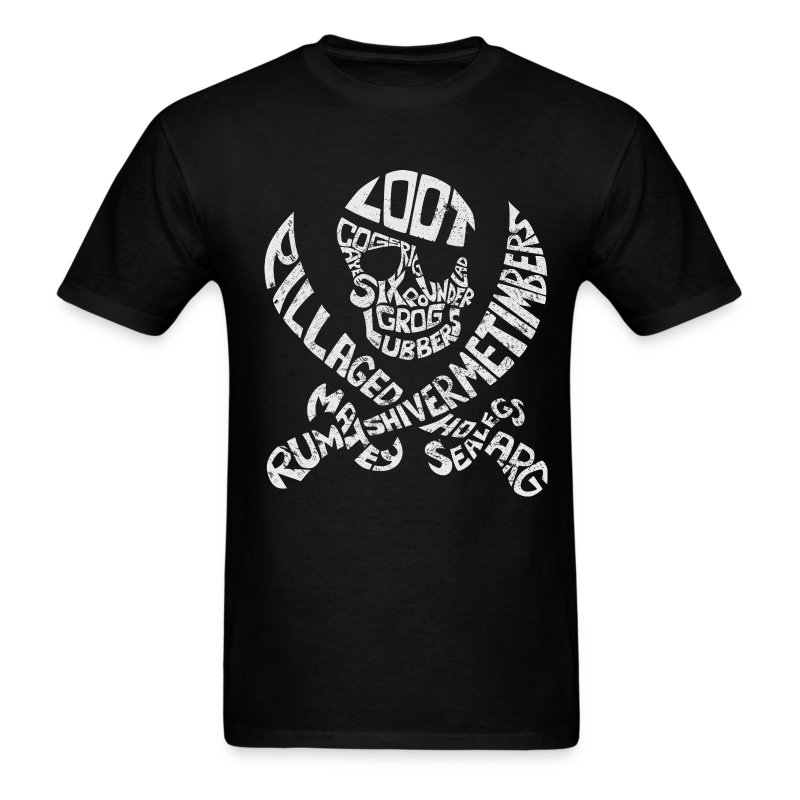Talk Like A Pirate Day Official Tee - Men's T-Shirt