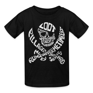 Talk Like A Pirate Day Official Tee - Kids' T-Shirt