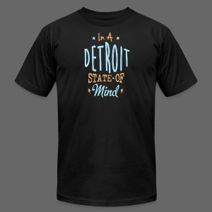 A Detroit State Of Mind - Men's T-Shirt by American Apparel