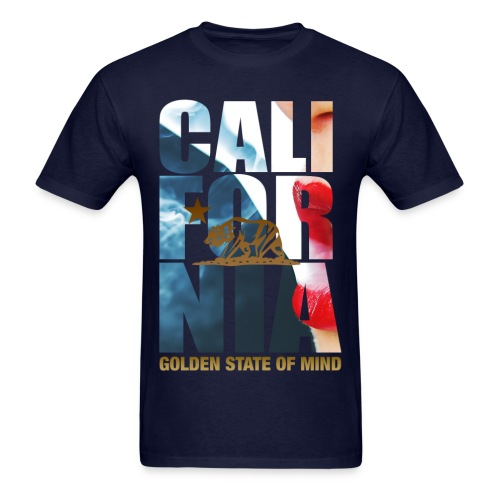 Cali Golden State Of Mind Mens Tee - Men's T-Shirt