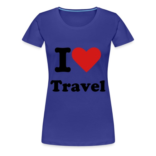 I Heart Travel Women's Tee - Women's Premium T-Shirt