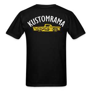 The Kustomrama Dream Truck Back - Men's T-Shirt