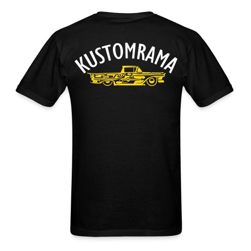 The Kustomrama Dream Truck Back - Men's T-Shirt