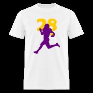 T-Shirts ~ Men's T-Shirt ~ Peterson Superstar #28 Vikings Shirt