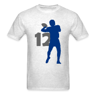T-Shirts ~ Men's T-Shirt ~ Luck Superstar #12 Colts Shirt