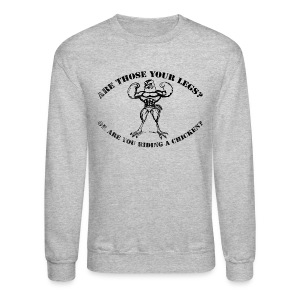 Leg Day - Crewneck Sweatshirt