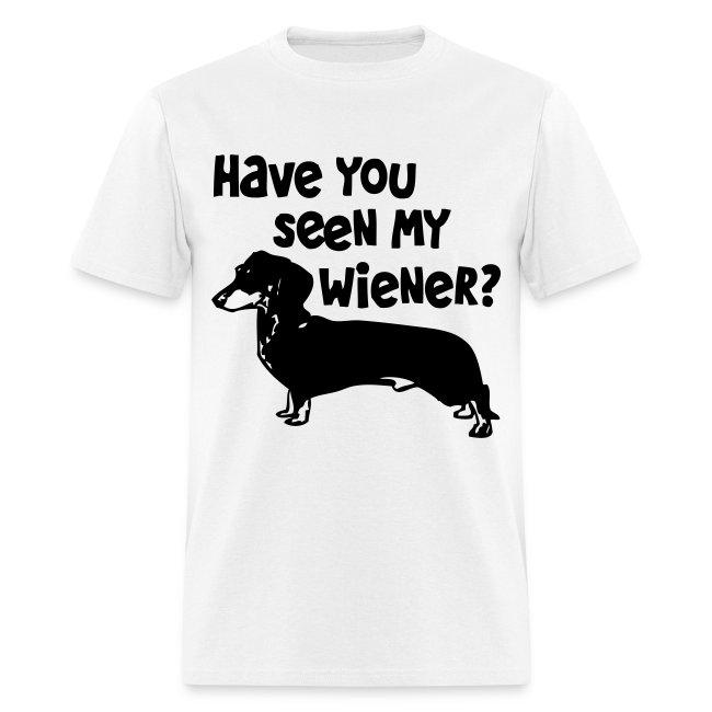 Have you seen my wiener?