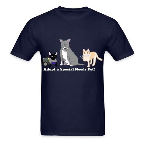 Special Needs Pets Tee - Men - Men's T-Shirt
