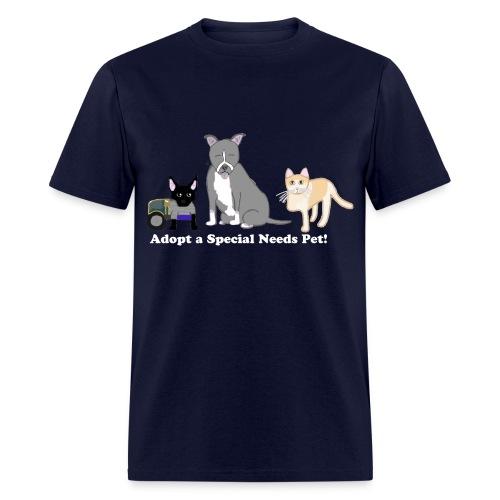 Special Needs Pets Tee - Men - Men's T-Shirt