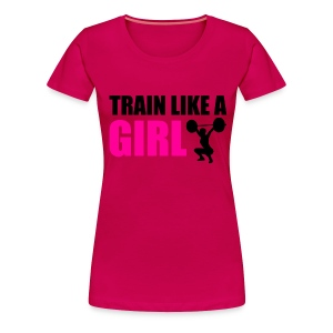 like a girl - Women's Premium T-Shirt