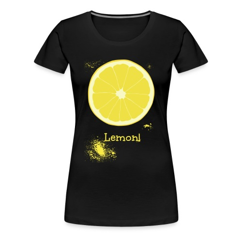 Lemon - Women's Premium T-Shirt
