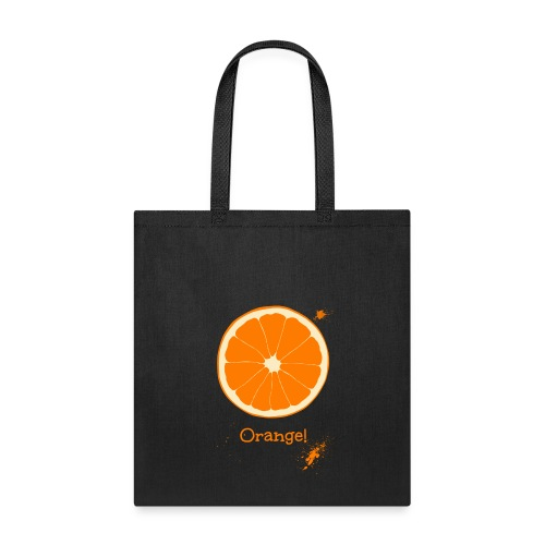 Orange - Tote Bag