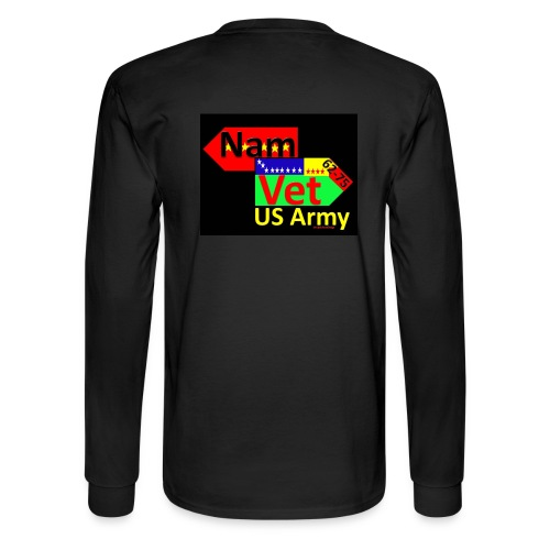 Nam Vet - Men's Long Sleeve T-Shirt