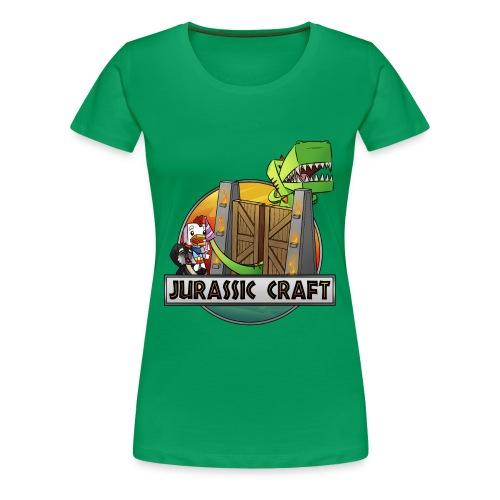 jurrasiccraftprint_1 - Women's Premium T-Shirt