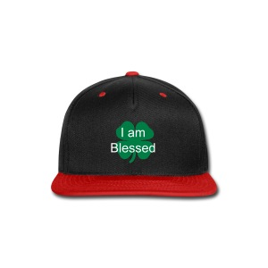 I am  Blessed(lucky edition) snapback - Snap-back Baseball Cap