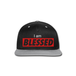 I am Blessed snapback - Snap-back Baseball Cap