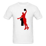 T-Shirts ~ Men's T-Shirt ~ Rose SUPERSTAR #1 Bulls Shirt