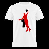 T-Shirts ~ Men's T-Shirt ~ Rose SUPERSTAR #1 Bulls Shirt