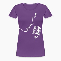 microphone Women's T-Shirts