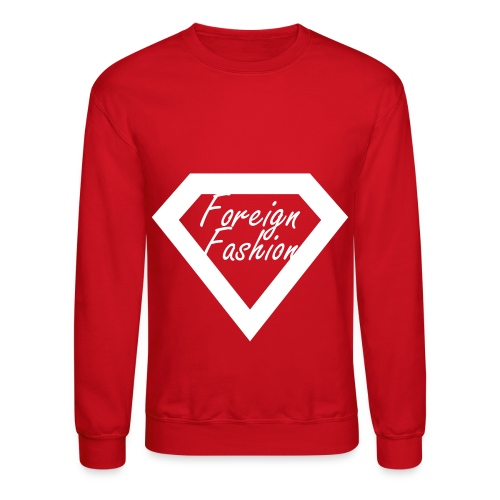 Foreign Fashion Crewneck - Crewneck Sweatshirt