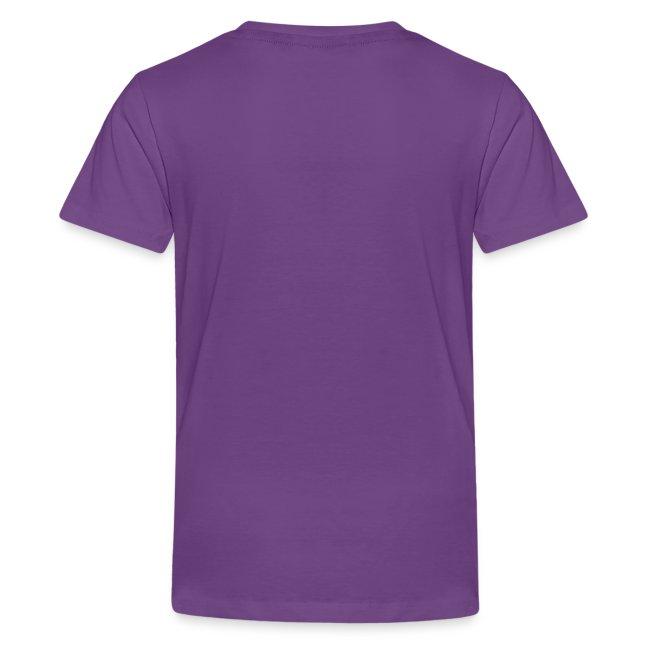 Kids' Premium T-Shirt,  Grey logo