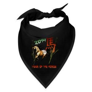 Chinese New Years-Year Of The Horse. - Bandana