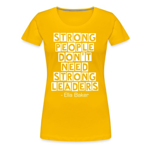 Strong People - Women's - Women's Premium T-Shirt