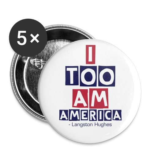 America Pins - Large Buttons