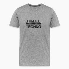 Techno Equalizer Logo T-Shirts