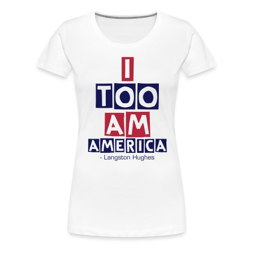 America Women's Version - Women's Premium T-Shirt