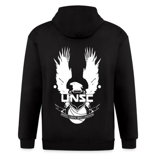 HALO: UNSC Hoodie - Men's Zip Hoodie