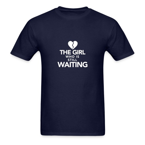 The Girl who is Still Waiting - Men's T-Shirt