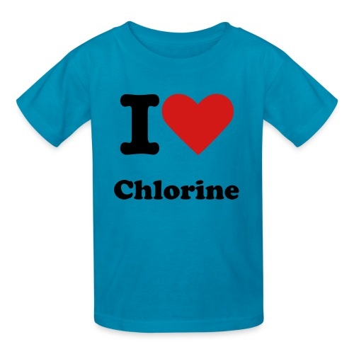 I Love Chlorine - Kids' T-Shirt