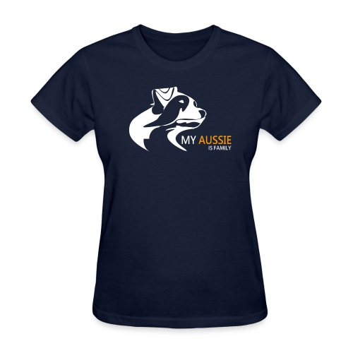 My Aussie is Family - Women's T - Women's T-Shirt