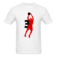 T-Shirts ~ Men's T-Shirt ~ Wade SUPERSTAR #3 Heat Shirt