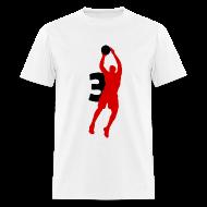 T-Shirts ~ Men's T-Shirt ~ Wade SUPERSTAR #3 Heat Shirt