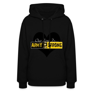 Our love is... ARMY STRONG Hoodie - Women's Hoodie