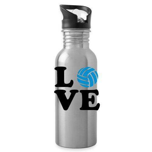 love volleyball water bottle - Water Bottle