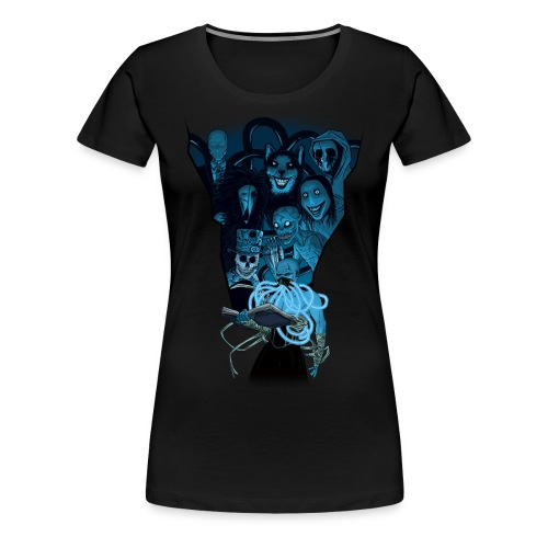 Mr. Creepypasta Shirt (Ladies) - Women's Premium T-Shirt