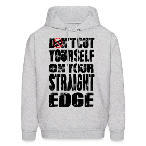 Straightedge Hoodie - Men's Hoodie