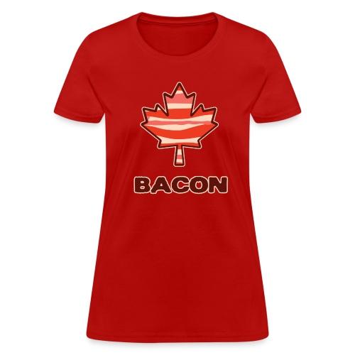Canadian Bacon (L) - Women's T-Shirt