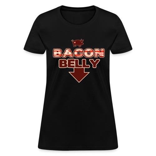 Bacon Belly (L) - Women's T-Shirt