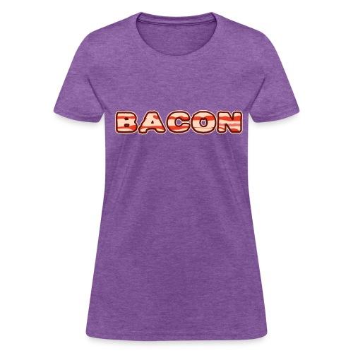 Bacon (L) - Women's T-Shirt