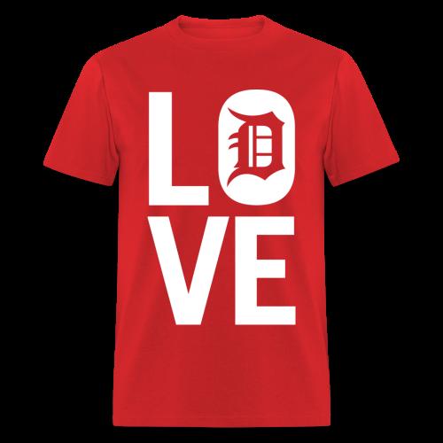 DETROIT LOVE - Men's T-Shirt