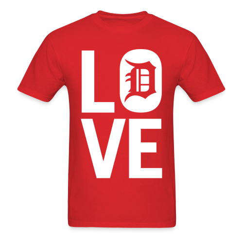 DETROIT LOVE - Men's T-Shirt