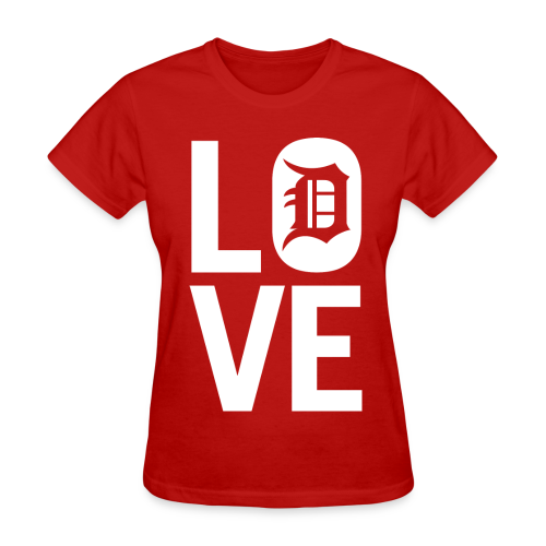 DETROIT LOVE - Women's T-Shirt
