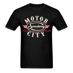 MOTOR CITY SPEEDWAY - Men's T-Shirt