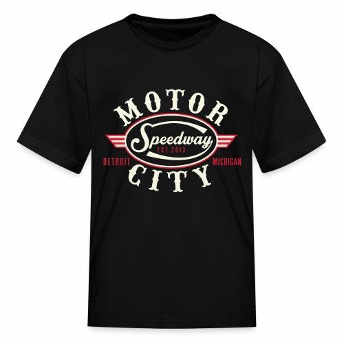MOTOR CITY SPEEDWAY - Kids' T-Shirt